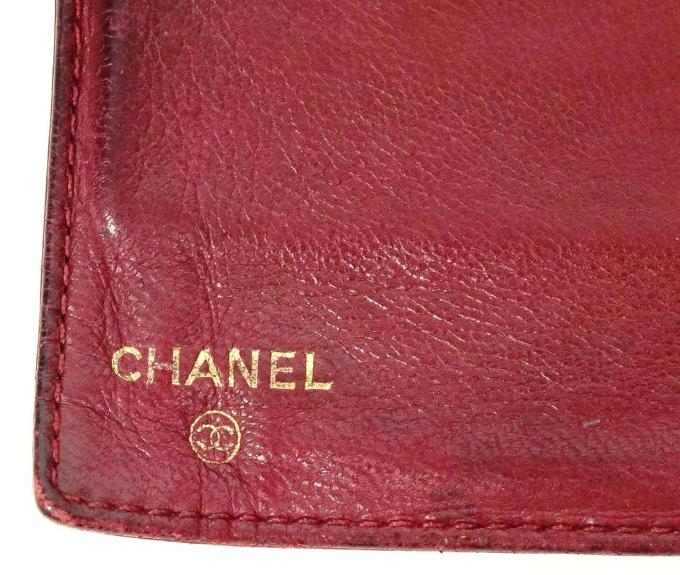 dc047c3bf3bd Chanel Chanel CC Black Caviar Leather Bifold Snap Coin Purse Wallet France  Image 10. 1234567891011