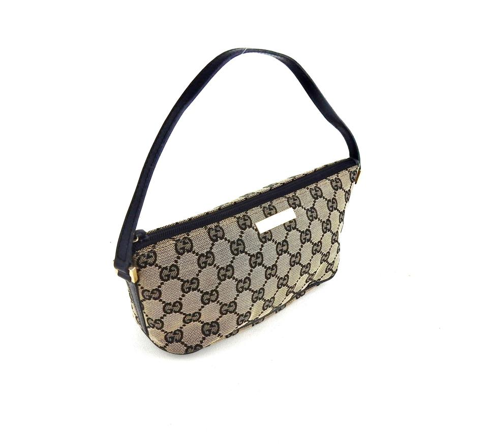 41ac58e7613e Gucci Shoulder Bag Pochette Accessories Mini Blue Gg Monogram Canvas ...