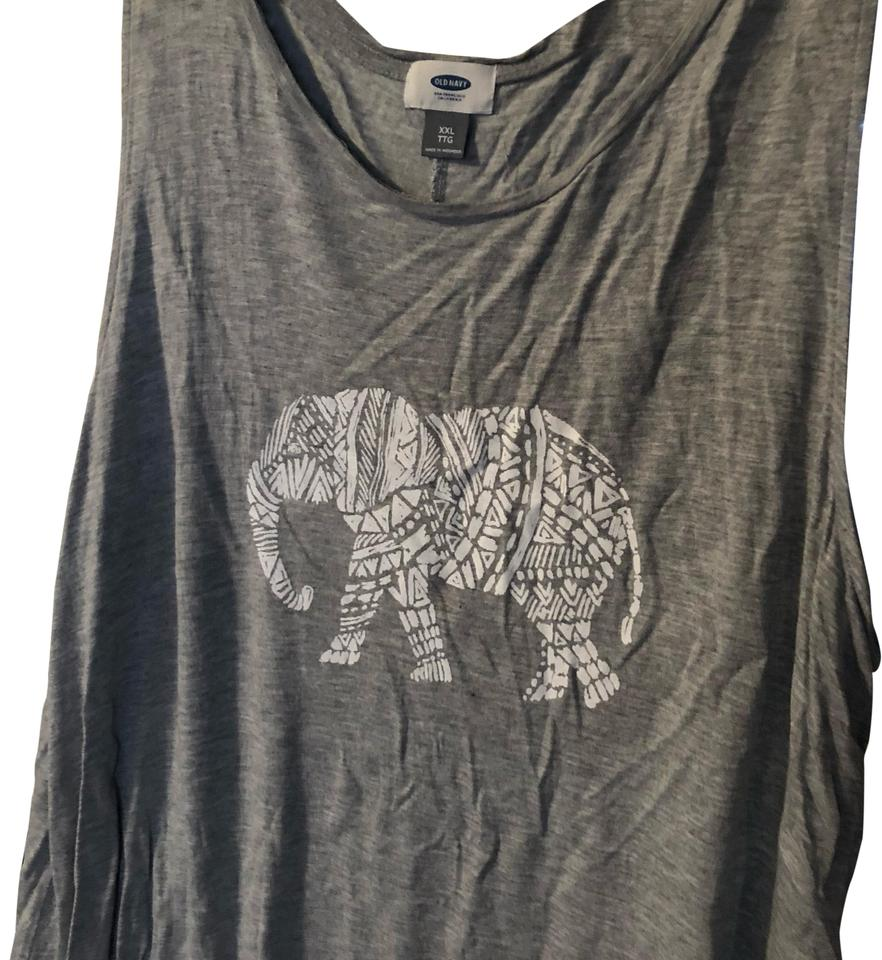 32afd08619140 Old Navy Grey Tank Top Cami. Size  18 (XL ...