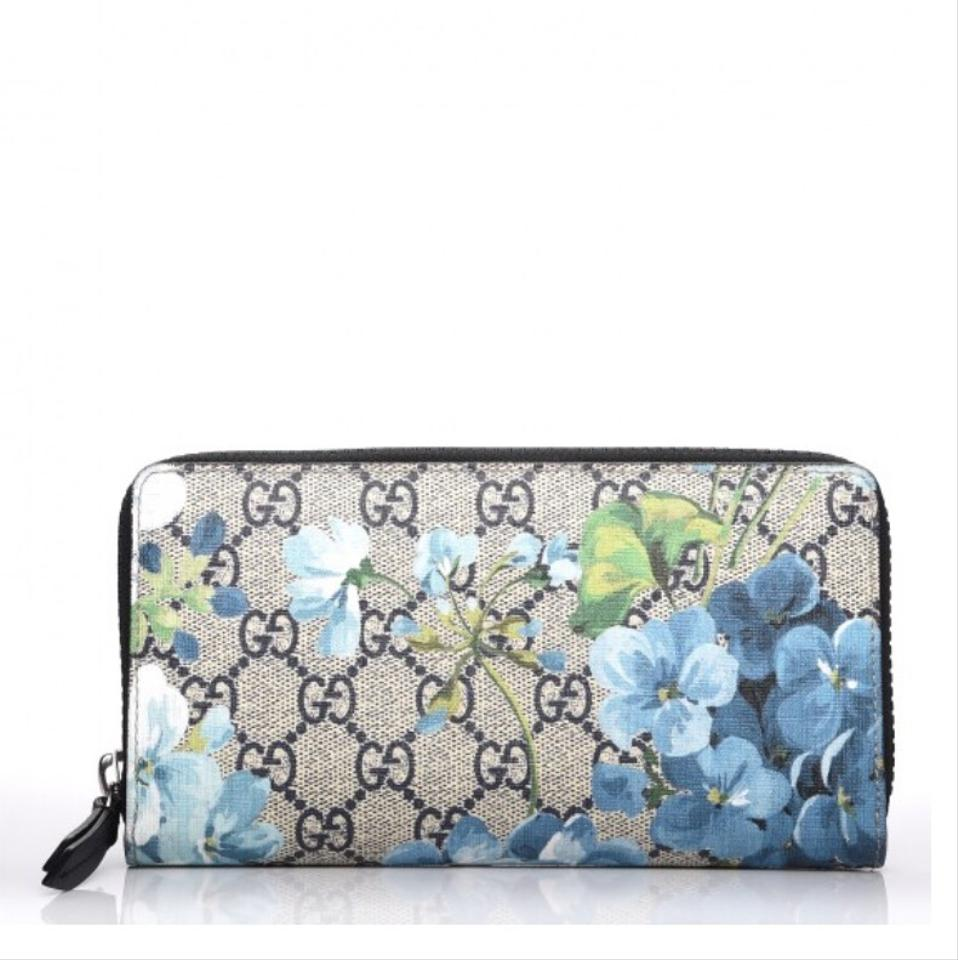 cb83434a2 Gucci Gg blooms zip around Wallet Image 0 ...
