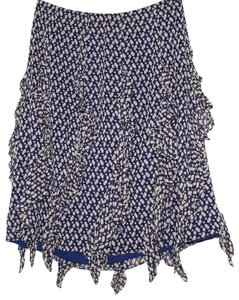 Kay Unger Skirt navy, beige,white