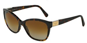 Dolce&Gabbana Free 3 Day Shipping DG 4195 502/T5 New Polarized Cat Eye