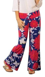 Tracy Negoshian Wide Leg Pants Multicolored