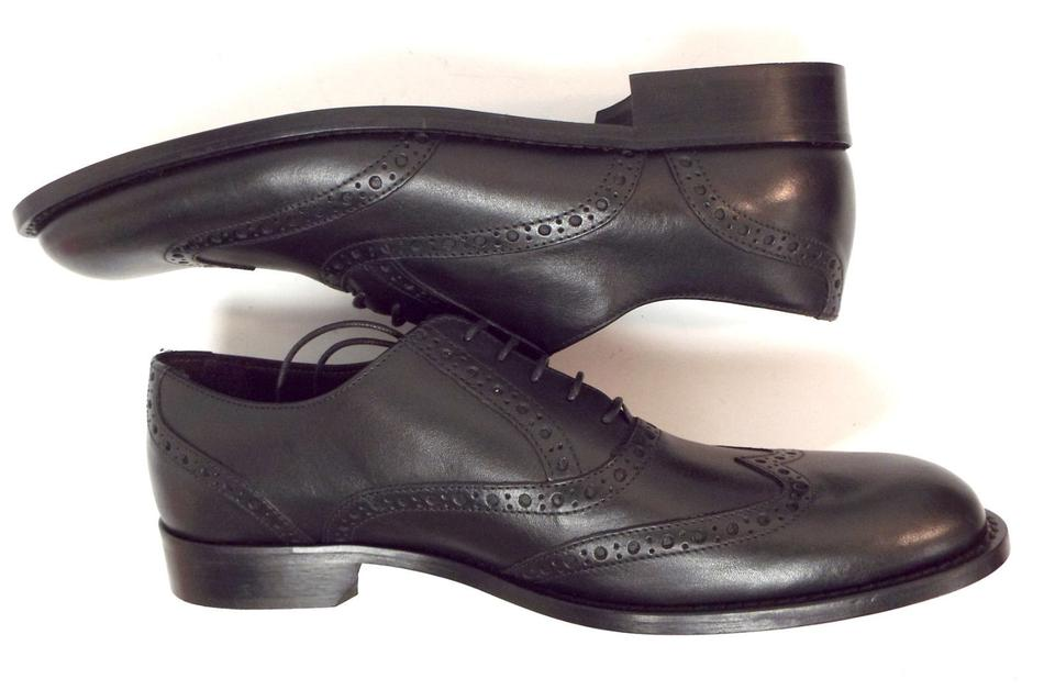 Shoes Oxfords Wingtip Leather Bruno Black Men's Magli xHgvzXqY