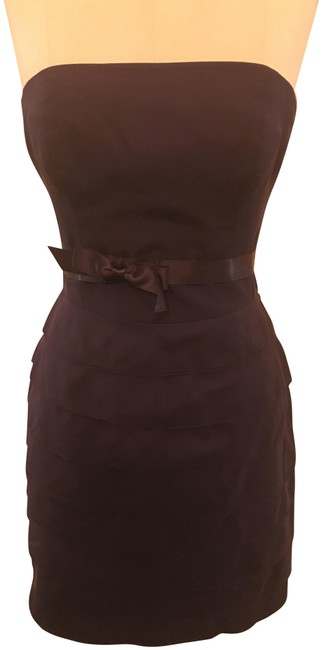 Item - Eggplant Purple Mid-length Night Out Dress Size 4 (S)