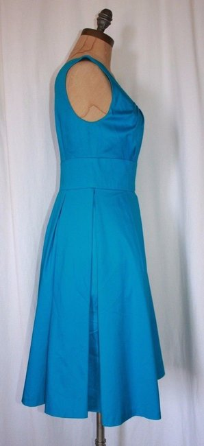 Calvin Klein Pleted Fit And Flare Dress