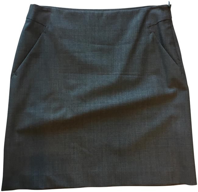 Item - Grey Wool Skirt Size 4 (S, 27)