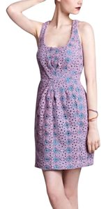Tracy Reese short dress Purple and Teal on Tradesy