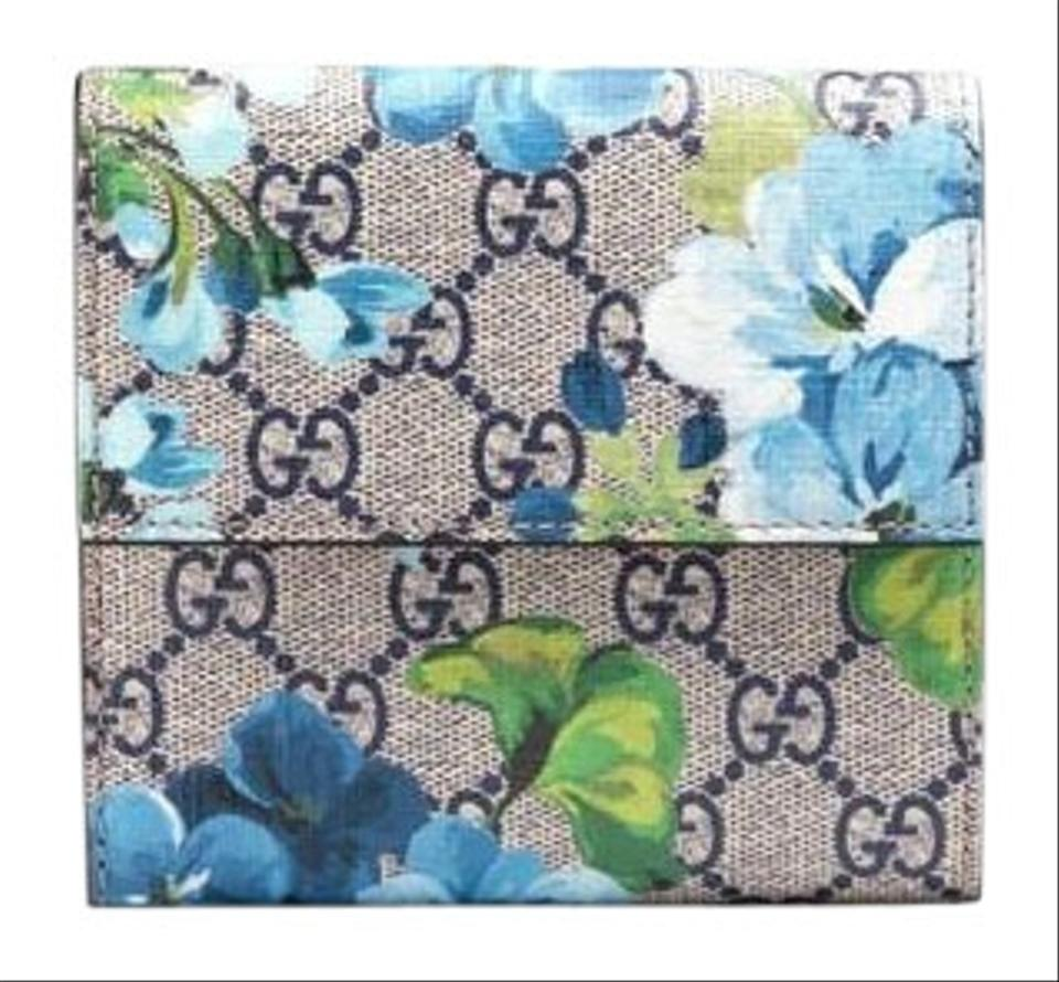 fd69e5b058d1a9 Gucci Gg blooms French flap wallet Image 0 ...