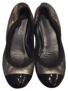 Cole Haan black and gold Flats