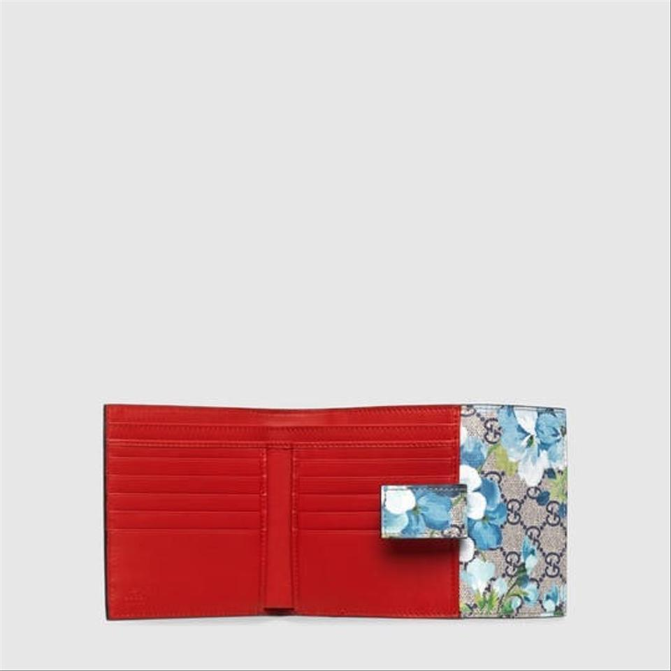 648a4a90016 Gucci Gg blooms French flap wallet Image 4. 12345