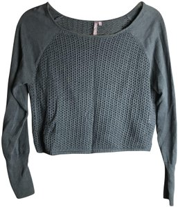 Sweaty Betty Mesh Crop Sweater
