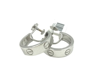 Cartier Cartier Love Earrings White Gold