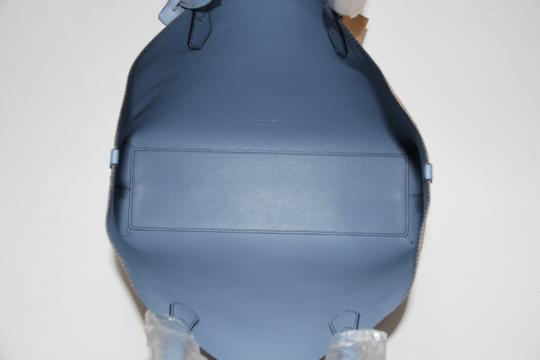 Burberry Reversible Leather Tote in Slate Blue Image 10