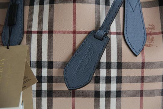 Burberry Reversible Leather Tote in Slate Blue Image 5