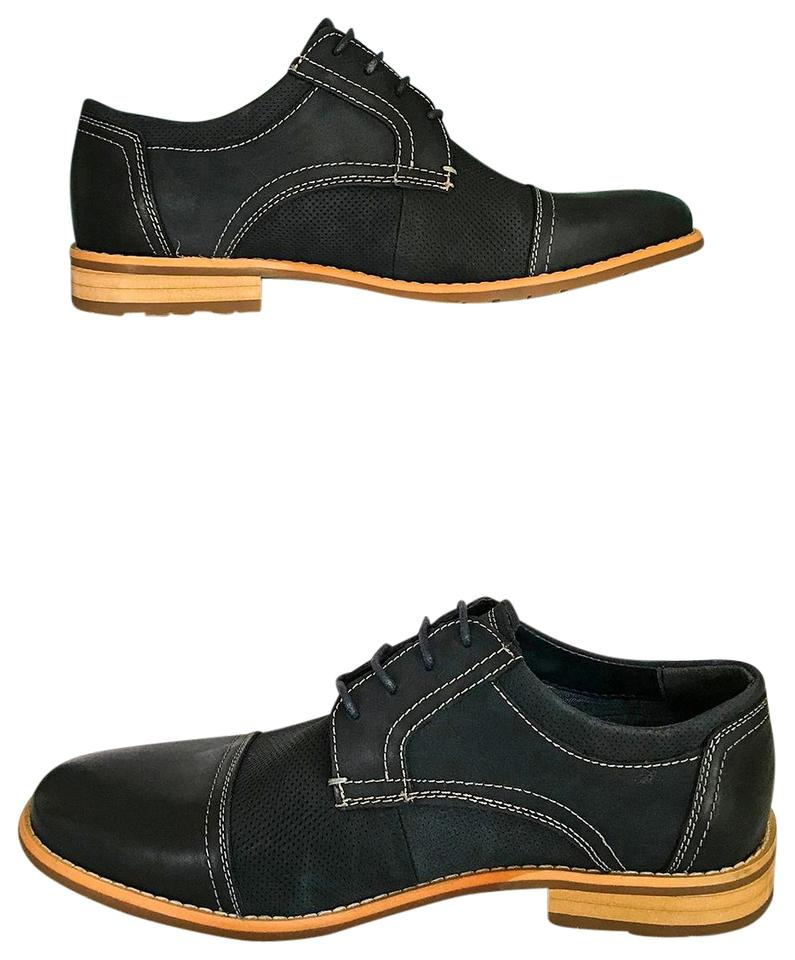 74ac7c91040 Steve Madden Navy Blue Chays Nubuck Leather Lace Up Casual Dress Men Oxford  Formal Shoes Size US 9.5 Regular (M, B) 42% off retail