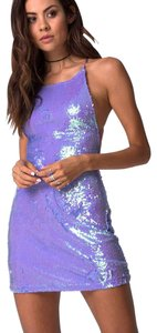 Motel Rocks Sequin Backless Dress