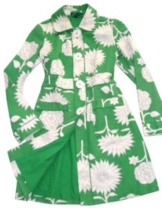 Boden Rainyday Mac Floral Trench Coat