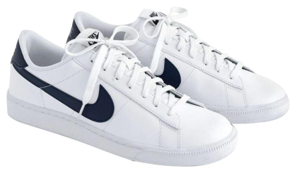 Nike White Nike® Tennis Classic Leather Sneakers Sneakers Size US ... 47f022421