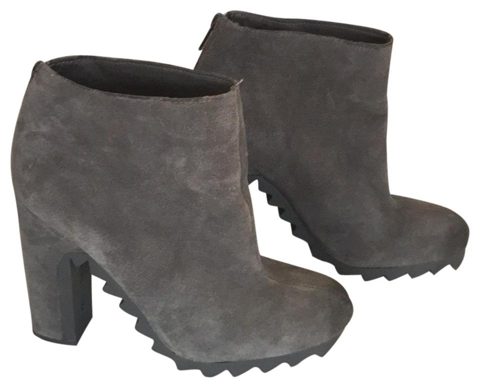 5d74ee822198a3 Circus by Sam Edelman Gray Kensley Extreme Tread Suede Ankle Boots Booties