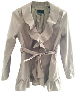 Cynthia Rowley Stylish Windbreaker Beige ecru Jacket