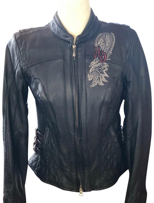Item - Black 3-in-1 Riding Jacket Size 4 (S)