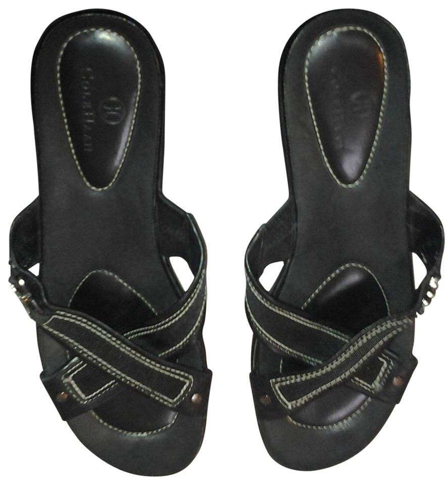 47f2d6650be9f5 Cole Haan Black - Nike Air Sandals Size US 10.5 Regular (M