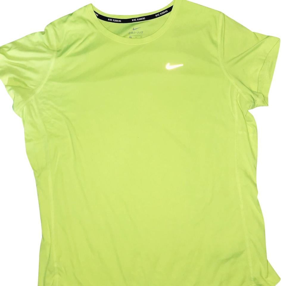 Nike Volt Running Dri Fit Tee Shirt Size 16 Xl Plus 0x