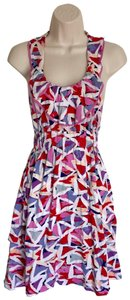 Marc by Marc Jacobs short dress purple/pink/white on Tradesy