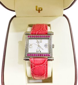 Lucien Piccard Lucien Piccard Ladies' Pink Leather Watch