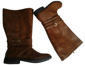 Brash Brown Boots