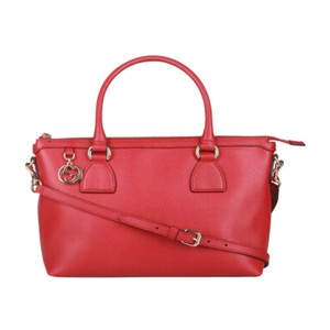 Gucci Handbags Satchel in Red