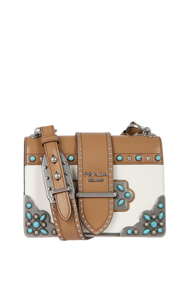 03ccc2726e Prada Cahier Folk Multicolor Leather Cross Body Bag - Tradesy