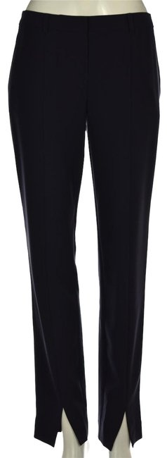 Item - Navy Blue Womens Casual Wool Trousers Pants Size 2 (XS, 26)
