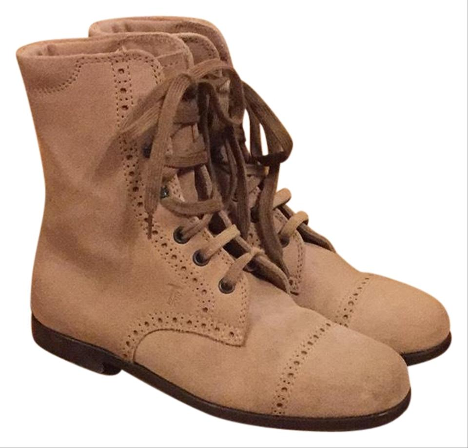 Tod's Taupe J.p. Sartorial Collection Boots/Booties Boots/Booties Collection 981788