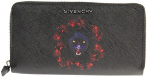 Givenchy Jaguar Iconic Long Zip-Around Wallet