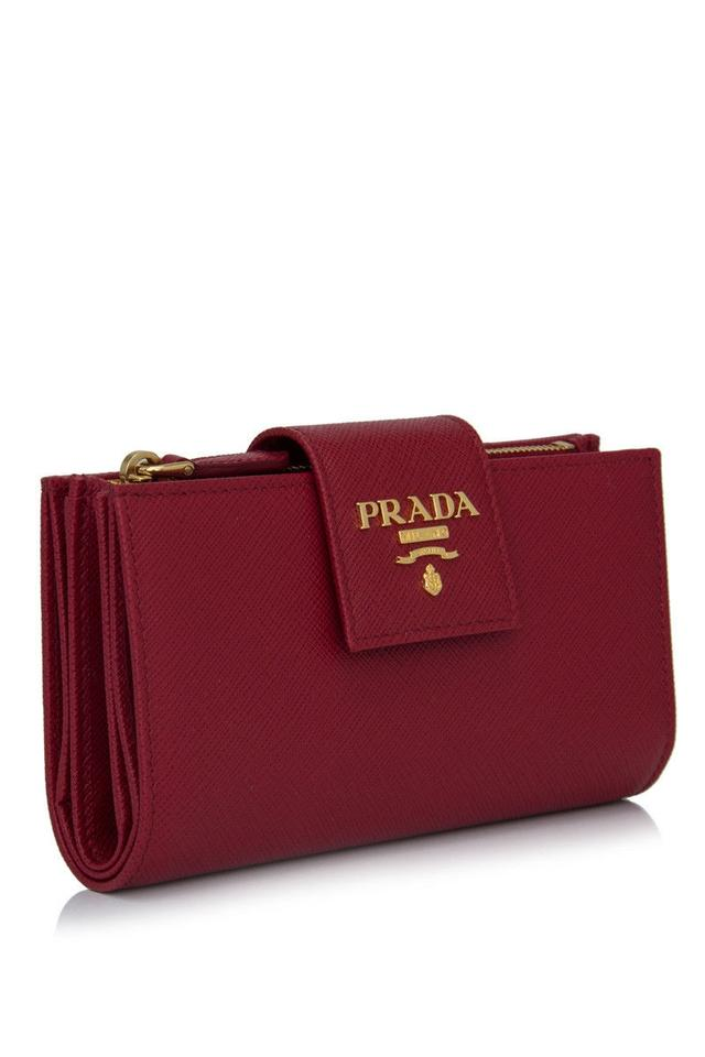a04f4834d9d8 Prada Medium Saffiano Leather Wallet Review | Stanford Center for ...