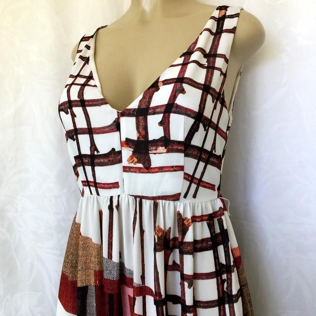multi Maxi Dress by Clover Canyon Sleeveless Grid Image 3