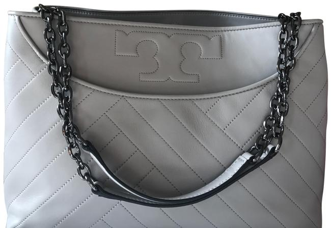 Item - Alexa Quilted Lambskin Leather Tote