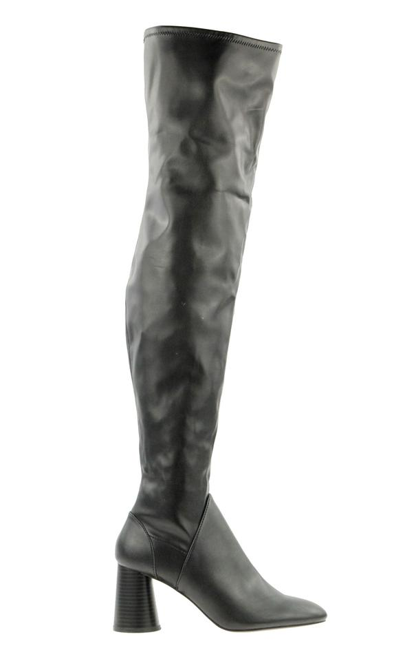 fa31802489a Zara Black Over-the-knee High Boots Booties. Size  EU 38 (Approx. US 8)  Regular (M ...