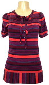 Marc by Marc Jacobs Shirt Striped Top purple