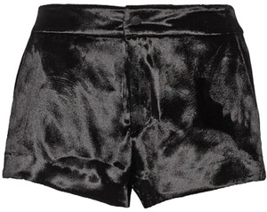 Rag & Bone Velvet Silk Nesi Dress Shorts Black