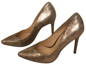 Alexandre Birman Rose Gold Pumps