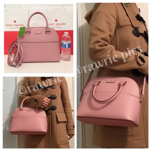 Kate Spade Structured Dome Shoulder Strap Convertible Blush Cross Body Bag