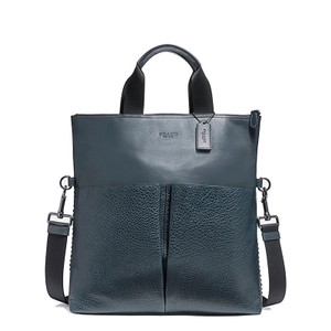 Coach Leather Business Exclusive Foldover Water Buffalo Laptop Bag