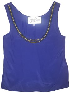 Rory Beca Beaded Cropped Top purple