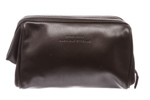 Strenesse Strenesse Gabriele Strehle Brown Leather Makeup Case