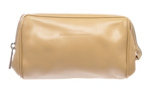 STRENESSE Strenesse Gabriele Strehle Beige Leather Makeup Case