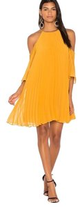 BB Dakota short dress Mustard Yellow on Tradesy