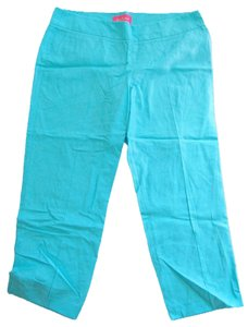 Lilly Pulitzer Capris Lagoon Blue